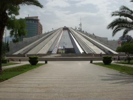 masonic pyramid albania