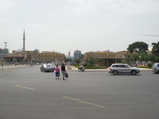 city center tirana albania