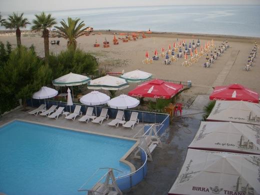 hotel oaz, durres, albania, resort, toruism