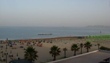 beaches of Durres albania