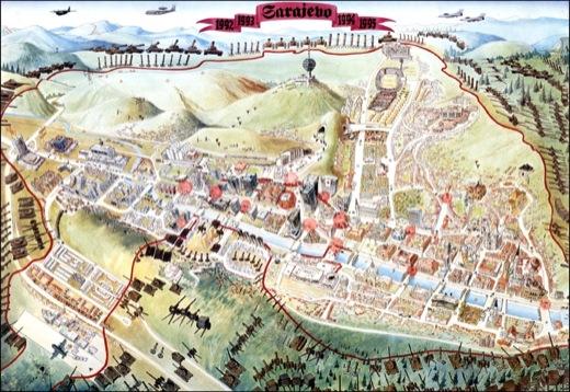 sarajevo siege 1993