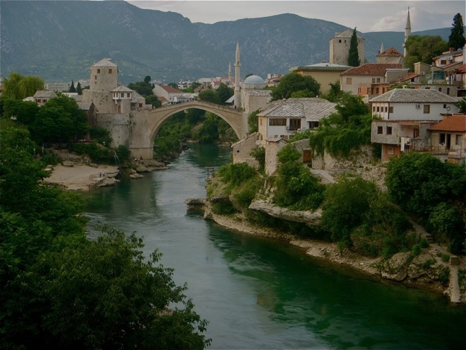 The Old Bridge of Mostar, Bosnia