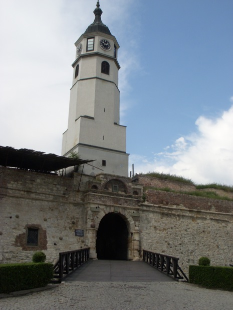 citadel tower in belgrade