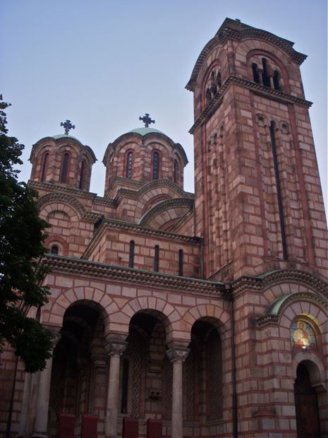 Church Towers in Belgrade