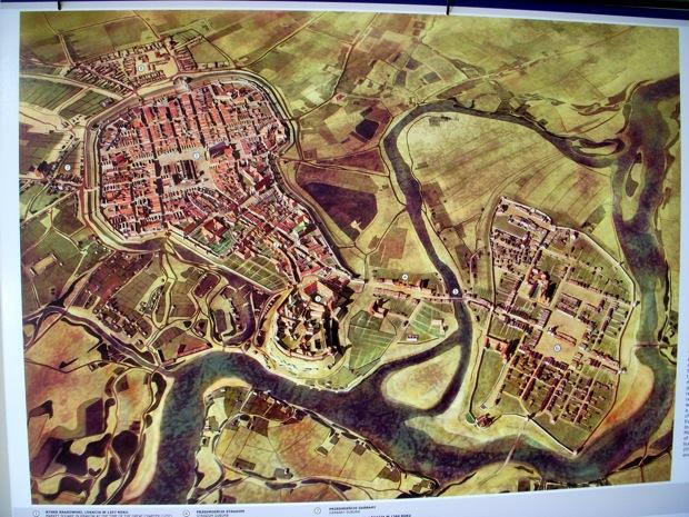 old town krakow 1700