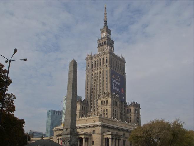 Warsaw Poland, Cultural Center