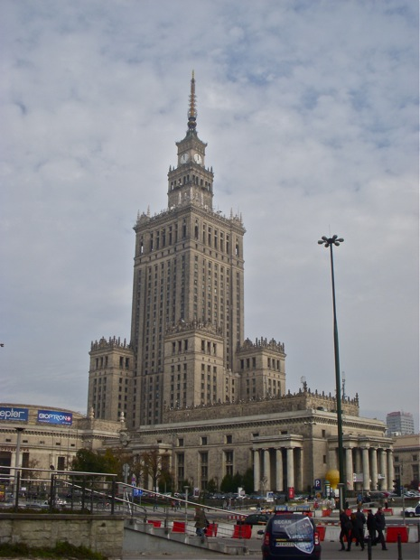 The Main Cultural Building in Warsaw