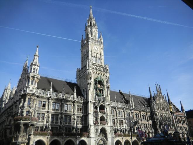 Munich city center, Germany art buildings