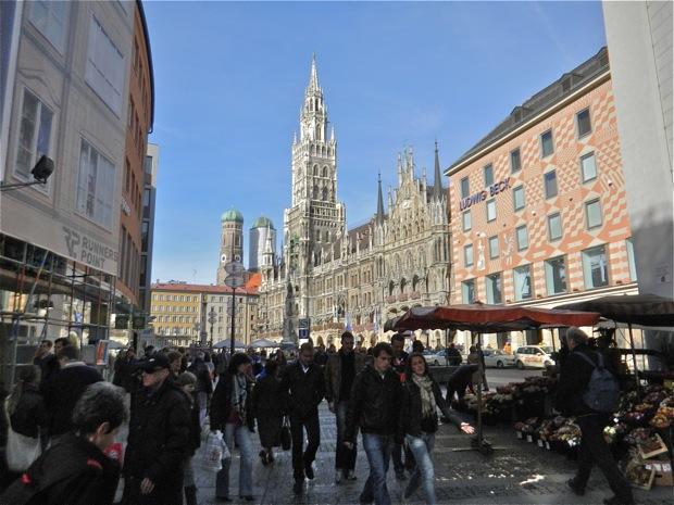 The City Center of Munich