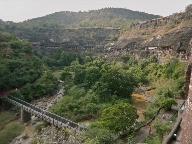 The Caves of Ajanta India
