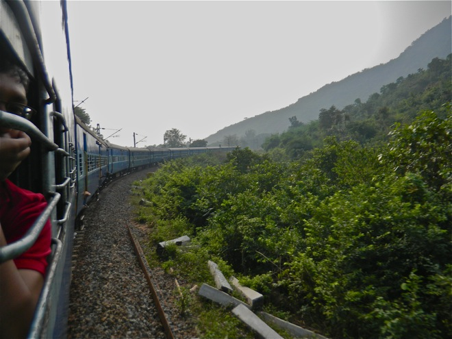 araku valley train ride