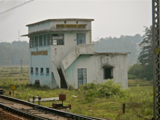 araku valley train station india