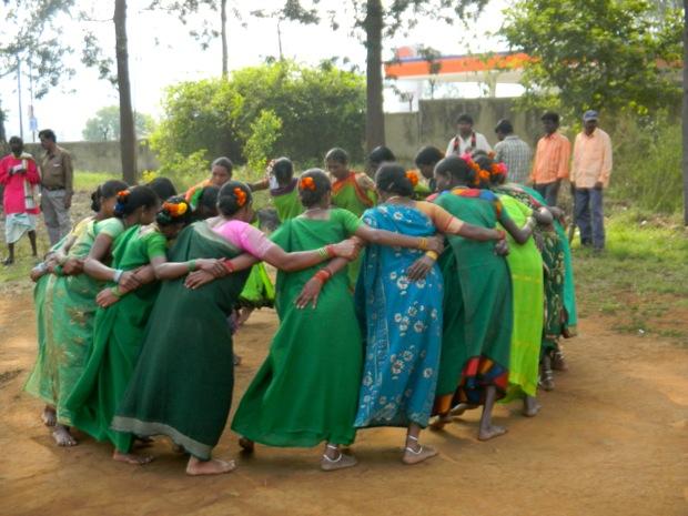India tribal dance Araku valley