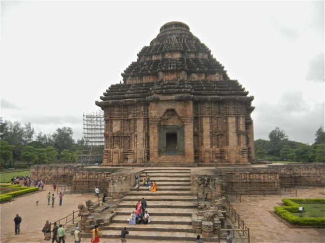 India Sun temple at konark. eastern coast of puri