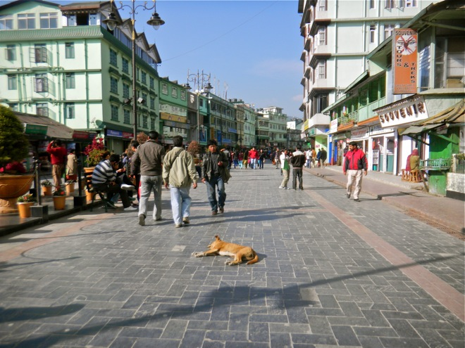 gangtok the city of sikkim, india's disputed state of sikkim
