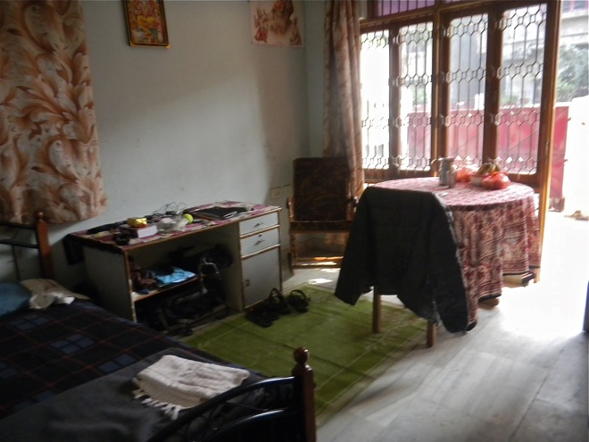 rented room in varanasi india