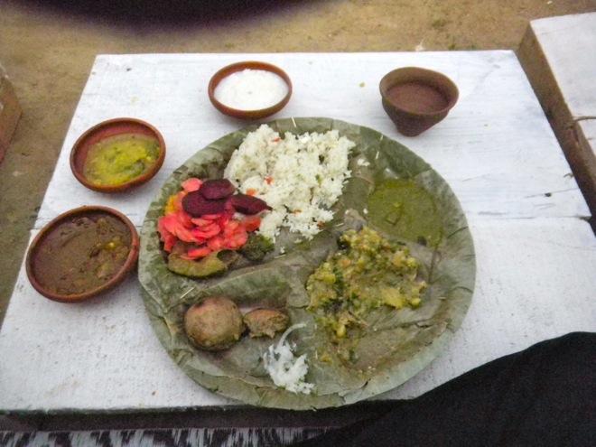 acidy indian food