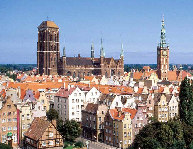 gdansk poland old city